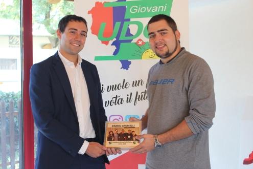 Diego Baratti e Daniel Grumelli